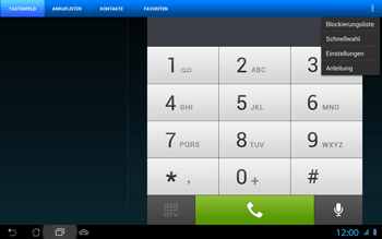 Asus Padfone 2 - Anrufe - Rufumleitungen setzen und löschen - Schritt 6