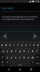 HTC One M8 - apps - account instellen - stap 6