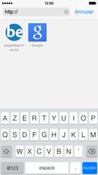 Apple iPhone 5c - Internet et roaming de données - Navigation sur Internet - Étape 18