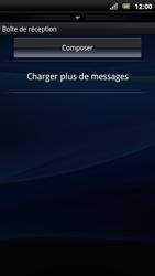Sony Xperia Arc S - E-mail - Envoi d