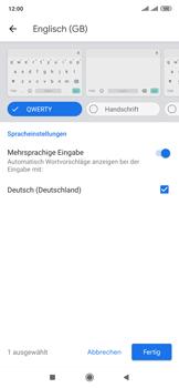 Xiaomi Mi Mix 3 5G - Startanleitung - So fügen Sie eine Tastatursprache hinzu - Schritt 10
