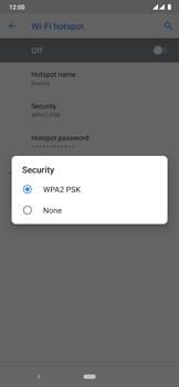 Nokia 6.2 - WiFi - How to enable WiFi hotspot - Step 10