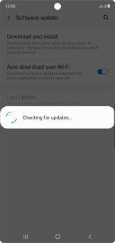 Samsung Galaxy Note 10 - Software - Installing software updates - Step 6