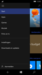 Microsoft Lumia 650 - apps - account instellen - stap 5