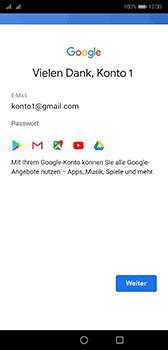 Huawei P20 - Android Pie - Apps - Konto anlegen und einrichten - Schritt 18