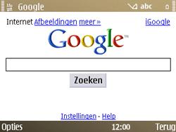 Nokia E72 - internet - hoe te internetten - stap 7