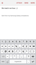 Samsung A310F Galaxy A3 (2016) - E-mail - Sending emails - Step 10