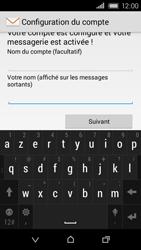 HTC Desire 320 - E-mail - Configuration manuelle - Étape 20