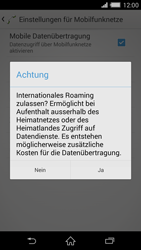 Sony Xperia Z2 - Ausland - Im Ausland surfen – Datenroaming - Schritt 10