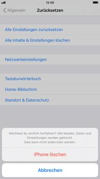 Apple iPhone 8 Plus - iOS 14 - Gerät - Zurücksetzen auf die Werkseinstellungen - Schritt 7