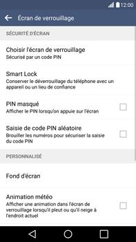 LG G4 - Sécuriser votre mobile - Activer le code de verrouillage - Étape 13