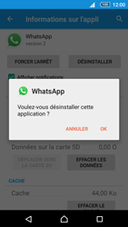 Sony Xperia Z5 - Applications - Comment désinstaller une application - Étape 7