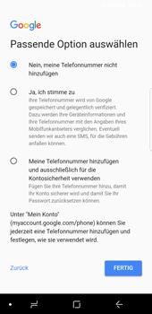 Samsung Galaxy S9 - Apps - Konto anlegen und einrichten - 16 / 21