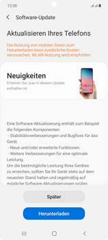 Samsung Galaxy Note 20 5G - Software - Installieren von Software-Updates - Schritt 7
