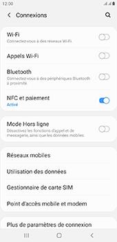 Samsung Galaxy J6 Plus - Wifi - configuration manuelle - Étape 4