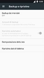 Nokia 3 - Dispositivo - Ripristino delle impostazioni originali - Fase 6