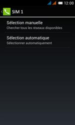 Alcatel One Touch Pop C3 - Réseau - Sélection manuelle du réseau - Étape 8