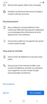Samsung Galaxy Note20 - Applications - Créer un compte - Étape 14