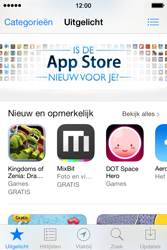 Apple iPhone 4S met iOS 7 (Model A1387) - Applicaties - Downloaden - Stap 3