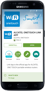 Alcatel MiFi Y900 - Applications - Download application for the smartphone - Step 10