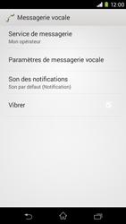 Sony Xperia M2 (D2303) - Messagerie vocale - Configuration manuelle - Étape 6