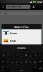 HTC Desire 500 - MMS - Afbeeldingen verzenden - Stap 12