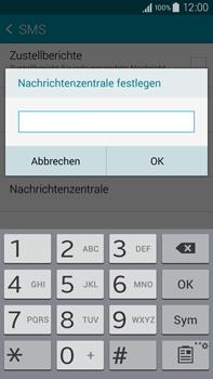 Samsung Galaxy Note 4 - SMS - Manuelle Konfiguration - 1 / 1