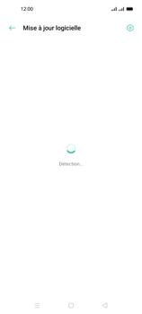 Oppo A53s - Aller plus loin - Mettre à jour le logiciel interne de votre mobile - Étape 6