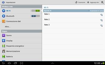 Samsung Galaxy Tab 2 10.1 - WiFi - Configurazione WiFi - Fase 5