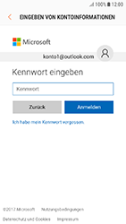 Samsung Galaxy J3 (2017) - E-Mail - 032c. Email wizard - Outlook - Schritt 7