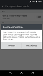 HTC Desire 530 - Internet et connexion - Partager votre connexion en Wi-Fi - Étape 7