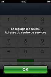 Apple iPhone 4 S - iOS 6 - SMS - configuration manuelle - Étape 7