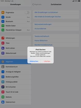 Apple ipad-10-2-7th-gen - Gerät - Zurücksetzen auf die Werkseinstellungen - Schritt 7