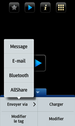 Samsung Wave 2 - Photos, vidéos, musique - Créer une vidéo - Étape 13