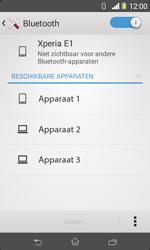Sony D2005 Xperia E1 - bluetooth - aanzetten - stap 6