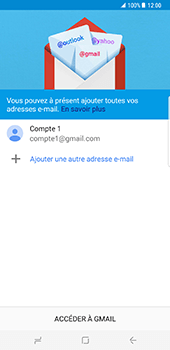Samsung Galaxy S8 Plus - E-mail - 032a. Email wizard - Gmail - Étape 15