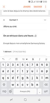 Samsung Galaxy A8 - E-mails - Envoyer un e-mail - Étape 19