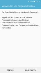 Samsung Galaxy S7 - Datenschutz und Sicherheit - Zugangscode einrichten - 12 / 15