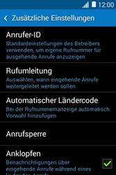 Samsung G130HN Galaxy Young 2 - Anrufe - Rufumleitungen setzen und löschen - Schritt 6