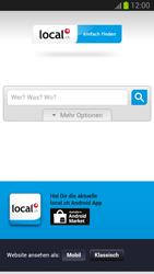 Samsung Galaxy S III - Internet und Datenroaming - Verwenden des Internets - Schritt 12