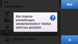 Nokia C6-00 - Fehlerbehebung - Handy zurücksetzen - 2 / 2