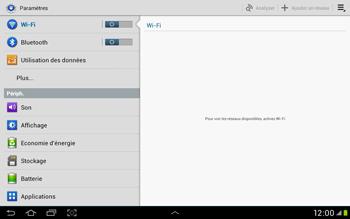 Samsung Galaxy Tab 2 10.1 - WiFi - Configuration du WiFi - Étape 4