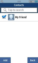 Samsung S5250 Wave 525 - E-mail - Sending emails - Step 6