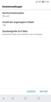 LG G6 - Android Oreo - E-Mail - Konto einrichten - Schritt 18