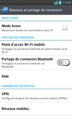 LG Optimus F6 - Internet et connexion - Activer la 4G - Étape 5
