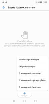 Huawei P20 Lite Dual-SIM (Model ANE-LX1) - Beveiliging en ouderlijk toezicht - Nummer blokkeren - Stap 8