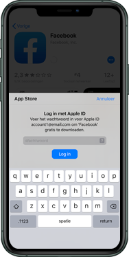 Apple iPhone 8 - iOS 13 - apps - account instellen - stap 25