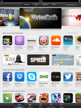 Apple iPad mini - Apps - Konto anlegen und einrichten - 21 / 21