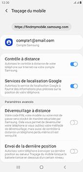 Samsung Galaxy J6 Plus - Appareil - configurer Localiser mon appareil - Étape 8