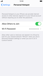 Apple iPhone 8 - iOS 14 - WiFi - How to enable WiFi hotspot - Step 8